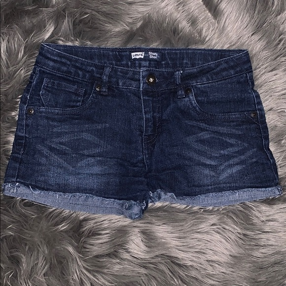 Levi's Denim Shorts Size:16